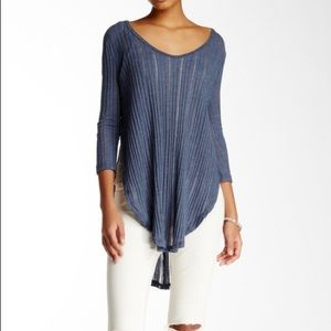 Free people XS cropped long sleeve